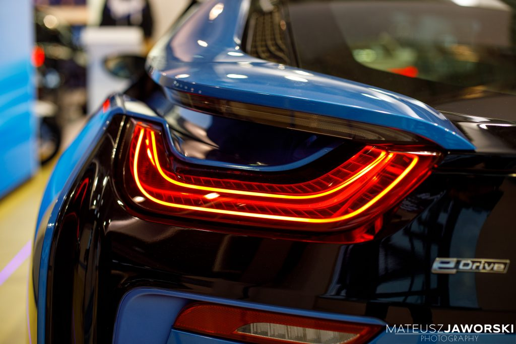 See and be seen, BMW i8